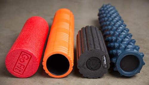 Colorful Foam Rollers