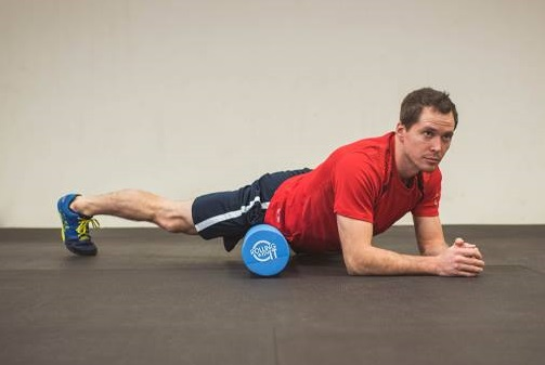Exercising On Rolling With It The Foam Roller