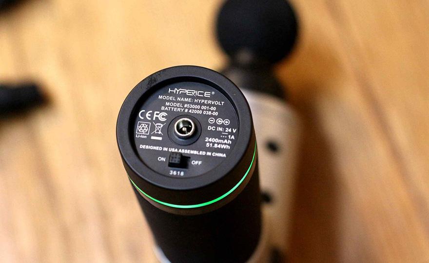 Theragun vs Hypervolt - Battery Power
